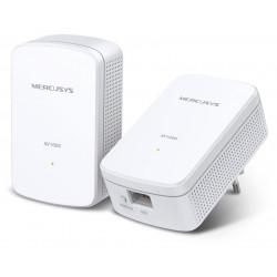 Mercusys MP500 KIT AV1000 Gigabit Powerline Starter KIT, 1x Gbit LAN, Twin pack