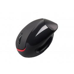 C-TECH Myš VEM-07, vertikální, černá, USB