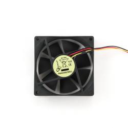 Ventilátor do skříně  80x80 kuličkové ložisko