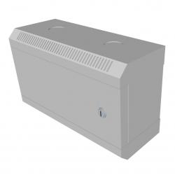 """10"""" rack jednodílný 4U 140 DATACOM Šedý plech.dveře + dárek myš Sony VAIO"""