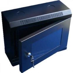 """10"""" rack jednodílný 6U 280 DATACOM černý Skl.dv."""