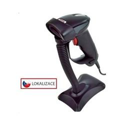 Virtuos laserová čtečka HT-900A, USB (emulace klávesnice RS232), černá