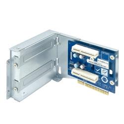 QNAP Riser Card Module; 1 x PCIe 3 x8 to 2 x PCIe 3 x4; x73AU short depth 2U chassis
