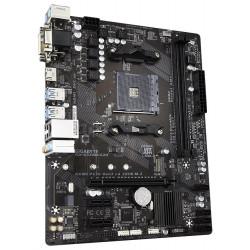GIGABYTE A320M-S2H (rev. 3.x) AMD A320 AM4 2x DDR4 DIMM D-Sub DVI-D HDMI M.2 mATX