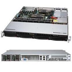 """SUPERMICRO 1U server 2x LGA3647, iC621, 8x DDR4 ECC R, 4x SATA3 HS (3,5""""), M.2, 2x600W, 2x1GbE, IPMI"""