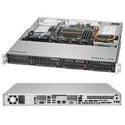 """SUPERMICRO 1U server 1x LGA1151, iC236, 4x DDR4 ECC, 4x 3.5"""" HS SATA3, 350W, IPMI"""