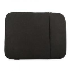"""Logic obal PLUSH na notebooky do velikosti 15,6"""", 2 kapsy, černá"""