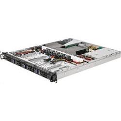 ASRock Rack 1U server 1x AM4, X570, 4x DDR4 ECC, 4x SATA 3,5HS, 2xM.2, PCIe4 x16, 2x 10Gb + 2x 1Gb LAN, 2x 450W, IPMI