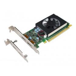 NVIDIA GeForce GT730 - Grafická karta - GF GT 730 - 2 GB GDDR5 - PCIe 2.0 x8 nízký profil - DisplayPort - pro ThinkCentre M710; M715; M720; M910; M920; V530-15