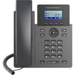 """Grandstream GRP2601P SIP telefon, 2,21"""" LCD displej, 2 SIP účty, 100Mbit port, PoE"""