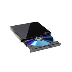 HITACHI LG - externí mechanika DVD-W/CD-RW/DVD±R/±RW/RAM GP57EB40, Slim, Black, box+SW