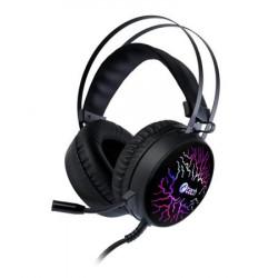 C-TECH herní sluchátka s mikrofonem Astro (GHS-16), casual gaming, LED, 7 barev podsvícení