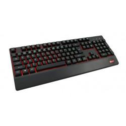 C-TECH klávesnice KB-104BK, USB, 3 barvy podsvícení, černá, CZ SK