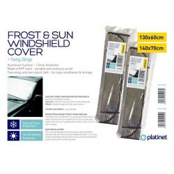 PLATINET ochranná fólie na sklo proti mrazu a slunci 130 x 60 cm