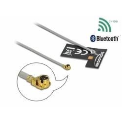Delock WLAN 802.11 b g n Anténa MHF® I samec 2 dBi 1.13 10 cm FPC interní samolepící