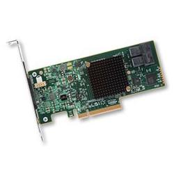 Broadcom LSI MegaRAID SAS 9341-8i, 12Gb s, SAS SATA 8-port, RAID 0 1 5 10 50, není vhodný pro RAID z SSD!