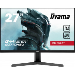 """27"""" iiyama G-Master G2770HSU-B1: IPS, FullHD@165Hz, 0.8ms, HDMI, DP, USB, FreeSync, černý"""