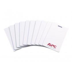 APC NetBotz HID Proximity Cards - Bezkontaktní karta - slonovinová (balení 10) - pro Rack Access PX - HID