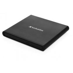 VERBATIM Externí CD DVD Slimline vypalovačka USB 2.0
