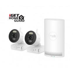 iGET HOMEGUARD HGNVK88002P - Kamerový systém s bateriovým provozem kamer a inovativní SMART detekcí pohybu, FullHD
