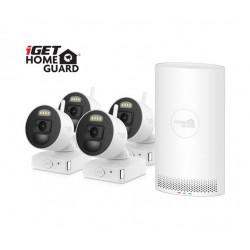 iGET HOMEGUARD HGNVK88004P - Kamerový systém s bateriovým provozem kamer a inovativní SMART detekcí pohybu, FullHD