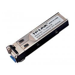 TP-Link TL-SM321B - Transceiver modul SFP (mini-GBIC) - GigE - 1000Base-BX - jednoduchý režim LC UPC - až 10 km - 1310 (TX) 1550 (RX) nm