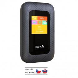 Tenda 4G185 Wi-Fi N300 mobile 4G LTE Hotspot s LCD, baterie 2100 mAh, 1x microSIM,microSD, až 10 hod