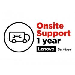Lenovo Onsite Upgrade - Prodloužená dohoda o službách - náhradní díly a práce (pro systém s roční zárukou depo nebo carry-in) - 1 rok (z původního data zakoupení vybavení) - na místě - pro ThinkBook 13x ITG; 16p G2 ACH; ThinkBook Plus G2 ITG; ThinkPad E14 Gen 3; E15 Gen 3
