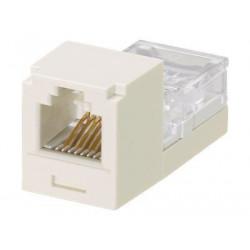 Panduit MINI-COM Mini-Jack - Modul - bílá - 1 port
