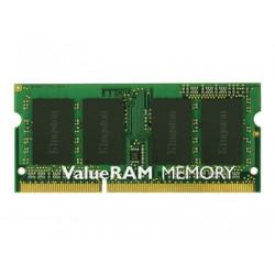 Kingston ValueRAM - DDR3 - modul - 2 GB - SO-DIMM 204-pin - 1600 MHz PC3-12800 - CL11 - 1.5 V - bez vyrovnávací paměti - bez ECC