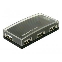 Delock - Rozbočovač - 4 x USB 2.0 - desktop