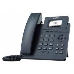 Yealink SIP-T30P IP telefon, 1x SIP, CZ SK displej, 2x 100Mb s port, PoE, Optima HD Voice