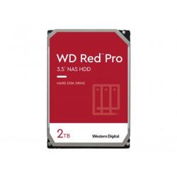 """WD Red Pro NAS Hard Drive WD2002FFSX - Pevný disk - 2 TB - interní - 3.5"""" - SATA 6Gb/s - 7200 ot/min. - vyrovnávací pamě: 64 MB"""