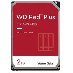 "WD RED Plus (NAS) - 3,5"" 2TB 5400rpm SATA-III 128MB cache"