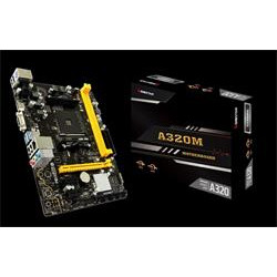 Biostar A320MH, mATX, soc. AMD AM4, A320, DDR4