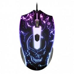 Defender Myš Overmatch GM-069, 2400DPI, optická, 4tl., 1 kolečko, drátová USB, černá, herní, podsvícená