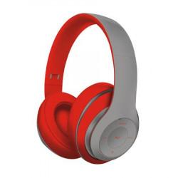 Platinet FREESTYLE BLUETOOTH sluchátka šedá červená