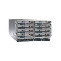 Cisco UCS 5108 Blade Server Chassis - Instalovatelný do racku - 6U - až 8 zásuvné moduly (blade) - zdroj napájení - hot-plug 2500 Watt - s UCS 6324 Fabric Interconnect