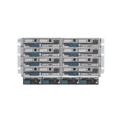 Cisco UCS 5108 Blade Server Chassis SmartPlay Select - Instalovatelný do racku - 6U - až 8 zásuvné moduly (blade) - zdroj napájení - hot-plug 2500 Watt - s 2 x UCS 6324 Fabric Interconnect