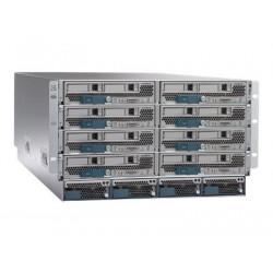 Cisco UCS 5108 Blade Server Chassis - Instalovatelný do racku - 6U - až 8 zásuvné moduly (blade) - bez zdroje napětí