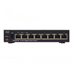 Cisco 250 Series SG250-08 - Přepínač - L3 - inteligentní - 8 x 10 100 1000 - desktop