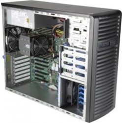 """SUPERMICRO A+ Server TWR 4U SP3, 8x DDR4, 8x 3,5"""", 900W(gold), 2x1GbE, IPMI, OOB"""