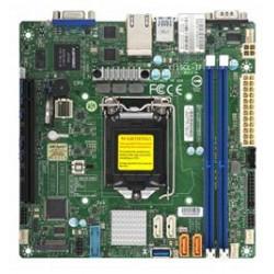 SUPERMICRO MB 1xLGA1151 (Xeon E3-21xx,i3), C242, 2xDDR4, 4xSATA3, M.2, 1xPCIe3.0 x16, VGA, 2x LAN, IPMI, mini-ITX