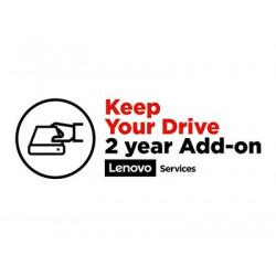 Lenovo Keep Your Drive Add On - Prodloužená dohoda o službách - 2 let - pro ThinkBook 13; 14; 15; ThinkPad E15; E48X; E49X; E58X; E59X; ThinkPad Yoga 11e (5th Gen)