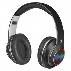 Defender FreeMotion B545, sluchátka s mikrofonem, ovládání hlasitosti, černá, 2.0, uzavřená, podsvícená, BT 5.0, slot pro MicroSD