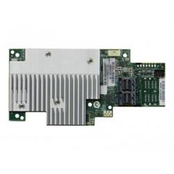 Intel RAID Controller RMSP3CD080F - Řadič úložiště (RAID) - 8 Kanál - SATA 6Gb s SAS 12Gb s PCIe - 12 Gbit s - RAID 0, 1, 5, 6, 10, 50, JBOD, 60 - PCIe 3.0 x8