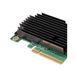 Intel Integrated RAID Module RMS25KB040 - Řadič úložiště (RAID) - 4 Kanál - SATA 6Gb s SAS 6Gb s nízký profil - 600 MBps - RAID 0, 1, 10, 1E - PCIe 3.0 x8 - pro Compute Module HNS2600; Server Board S2600; Server System P4308, R1208