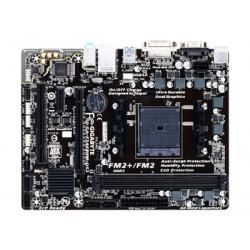 Gigabyte GA-F2A68HM-DS2 - 1.0 - základní deska - mikro ATX - Socket FM2+ - AMD A68H Čipová sada - USB 3.0 - Gigabit LAN - vestavěná grafika (vyžaduje CPU) - HD Audio (8 kanálů)