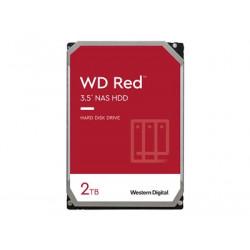 """WD Red NAS Hard Drive WD20EFAX - Pevný disk - 2 TB - interní - 3.5"""" - SATA 6Gb/s - 5400 ot/min. - vyrovnávací paměť: 256 MB"""