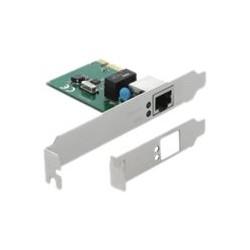 Delock PCI Express Card > 1 x Gigabit LAN - Síťový adaptér - PCIe 1.1 nízký profil - Gigabit Ethernet